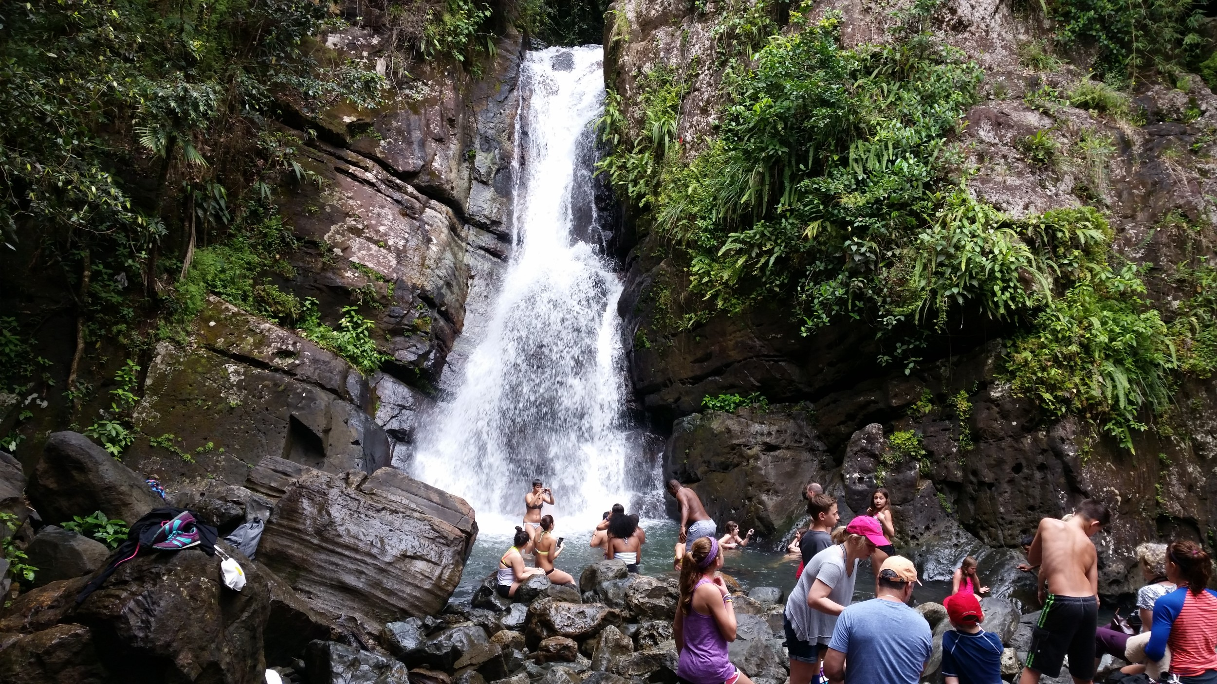 YunqueRainforestfalls
