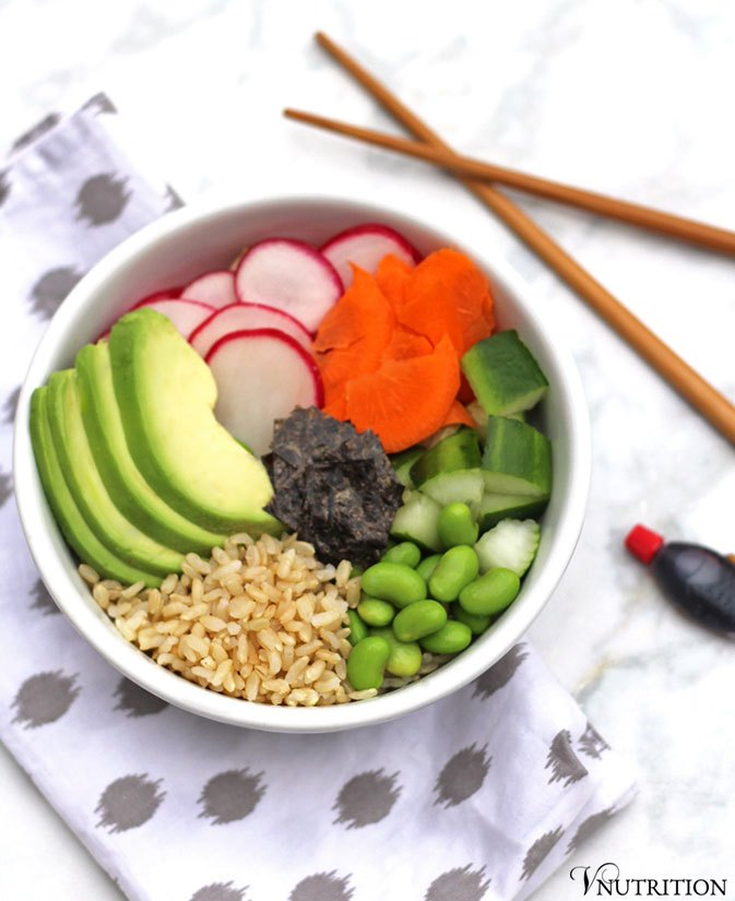 This week, Mary Ellen is sharing her Deconstructed Sushi Bowl :