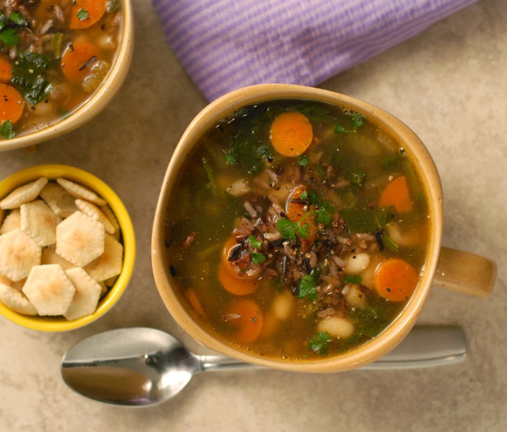 Wild-Rice-and-Vegetable-Soup-with-parsley-1024x872