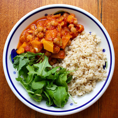 chickpea and peach curry