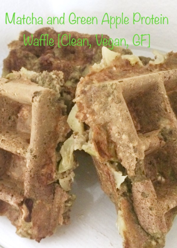 Matcha-and-Green-Apple-Protein-Waffle-Clean-Vegan-GF...And-A-Dash-of-Cinnamon
