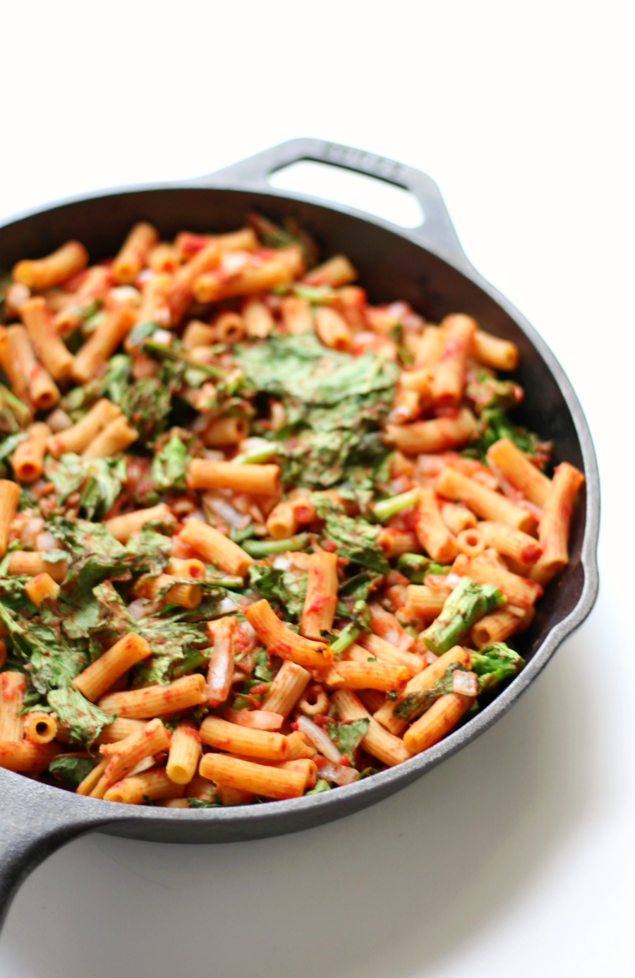 Sweet-Tomato-Broccoli-Rabe-Baked-Penne-1